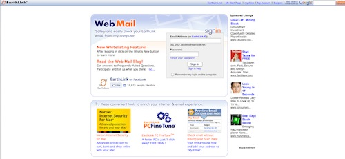 Check My Email Earthlink